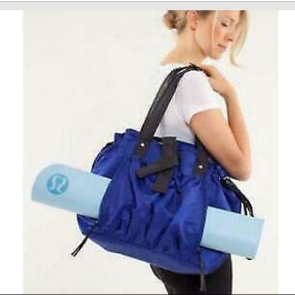 Lululemon Effortless Tote Bag Sprinkler Blue
